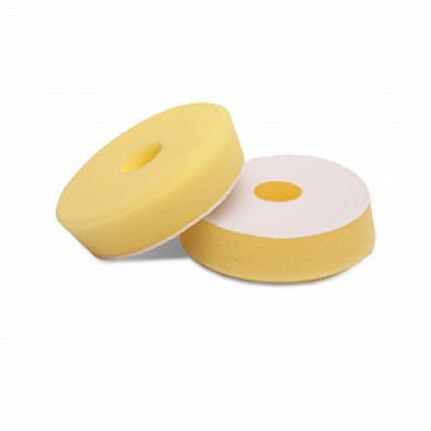Мягкий желтый эксцентриковый поролоновый круг 80/90 Detail арт. DT-0303