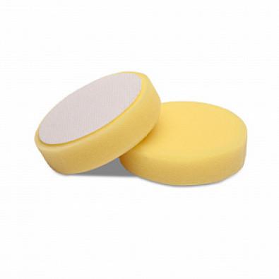 Мягкий желтый роторный поролоновый круг 80/90 Detail арт. DT-0312