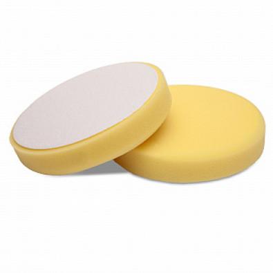 Мягкий желтый роторный поролоновый круг 150/160 Detail арт. DT-0314
