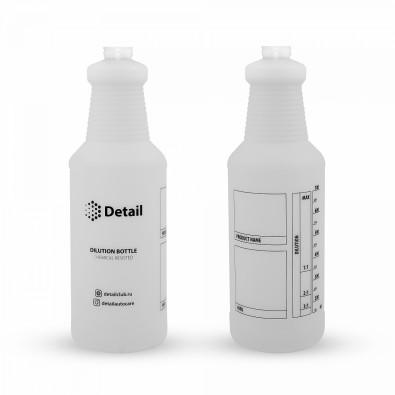 Бутылка с печатью Detail 1л арт. DT-0301