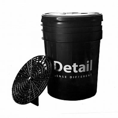 Ведро Detail черное арт. DT-0222