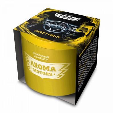 Ароматизатор гелевый «Aroma Motors» SWEET FRUIT в картонной упаковке(круглый) 100мл арт. AC-0170
