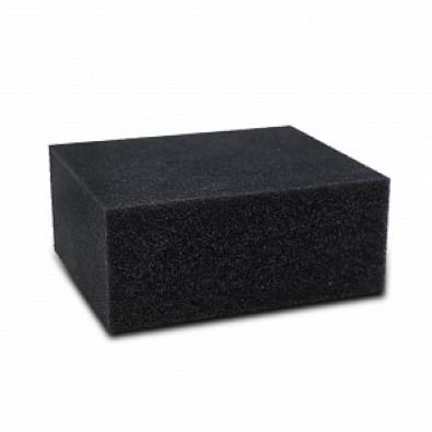 Губка черная химостойкая 120*100*50 мм арт. IT-0453