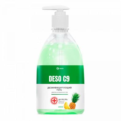 Дезинфицирующее средство на основе изопропилового спирта DESO C9 (ананас) (флакон 500 мл). 125567