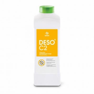 Дезинфицирующее средство с моющим эффектом на основе ЧАС DESO C2 клининг (канистра 1 л) арт. 125584