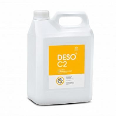 Дезинфицирующее средство с моющим эффектом на основе ЧАС DESO C2 клининг (канистра 5 л) арт. 125585