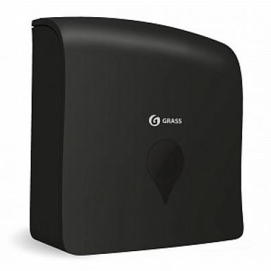 Пластиковый диспенсер ручной для бумажных полотенец черный арт. IT-0640