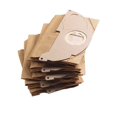 Фильтр-мешки бумажные для пылесосов  WD-3 5шт, аналог  6.959-130