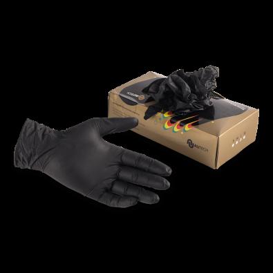 Перчатки нитриловые высокопрочные 1 шт размер L Au-G1013