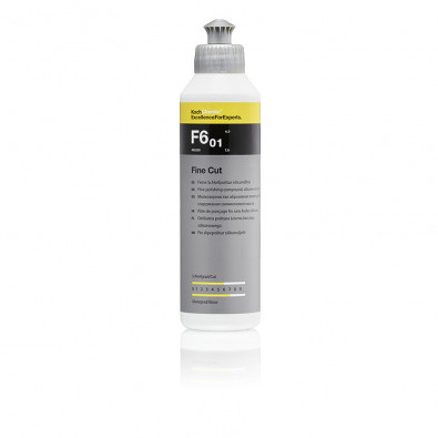 Fine Cut F6.01 0,25 l — Мелкозернистая абразивная политура, 250 мл, 405250