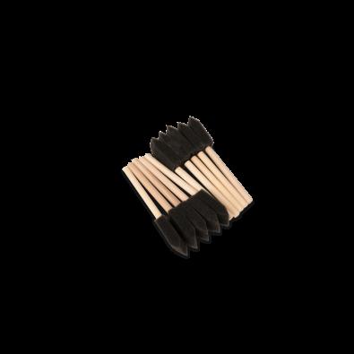 Губка- шпатель на деревянной ручке, комплект 10 шт. Артикул: Au-263