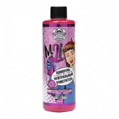 Нейтральный шампунь + очиститель с индикатором 2в1 LERATON M2 Shampoo 473мл. Артикул: PS-006.811