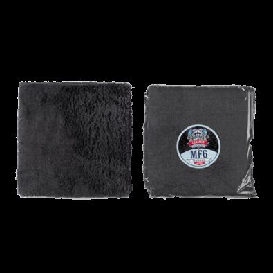 Плюшевая полировальная микрофибра LERATON BLACK JACK MF6 40x40 Артикул: PS-009.033