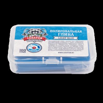 Неабразивная полировальная глина голубая LERATON CL1 100г. Артикул: PS-000.789