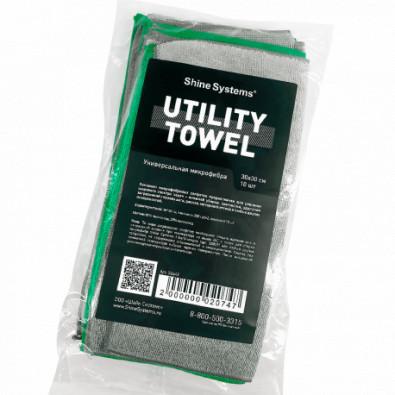 Utility Towel - универсальная микрофибра 30*30см, 10шт Арт.:SS642
