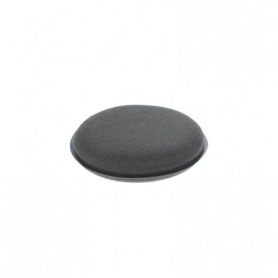 Wax Pad - Аппликатор черный поролоновый круглый 10*2 см Арт.:SS818