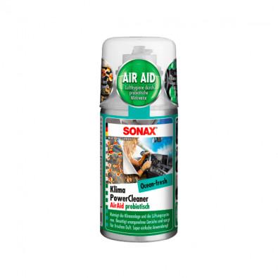 SONAX Очиститель системы кондиционирования пробиотиком Океанская Свежесть 150 мл. 323600