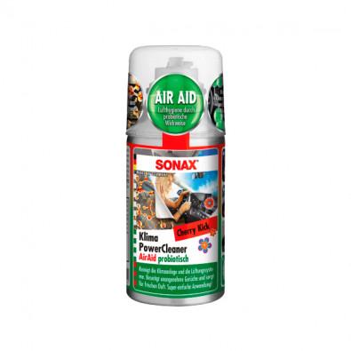 SONAX Очиститель системы кондиционирования пробиотиком Вишневый Удар 150 мл. 323700