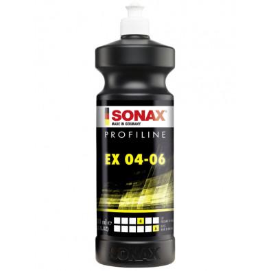 SONAX ProfiLine Ex 04-06 - Антиголограмный полироль для орбитальных машинок, 1л Арт.: 242300