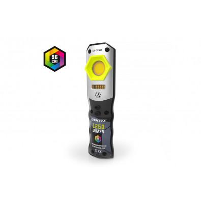 Инспекционный фонарь CRI 96+, 1250 Lm, 3 цвета + УФ, 5000 mAh | UNILITE. Артикул: CRI-1250R