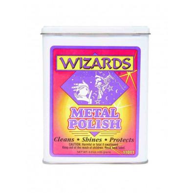 Вата для очистки и полировки металла Wizards metal polish. 85г. Wizards. 11011