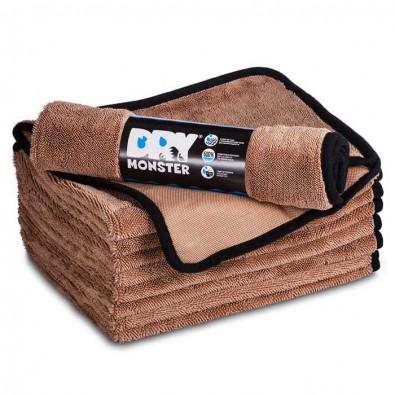 Протирочное полотенце из микрофибры Dry Monster 50x60см коричневое Артикул: TDT5060B