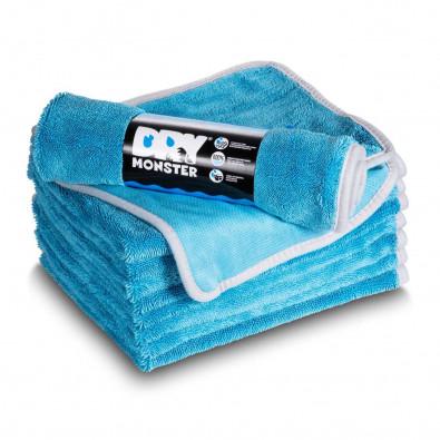Протирочное полотенце из микрофибры Dry Monster 50x60см голубое Артикул: TDT5060BL