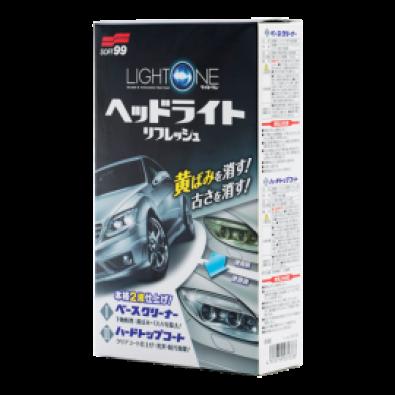 Light One Покрытие для пластика фар, 50+8 мл. 03133